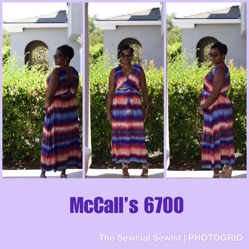 McCall's 6700 Misses' Dress andBelt